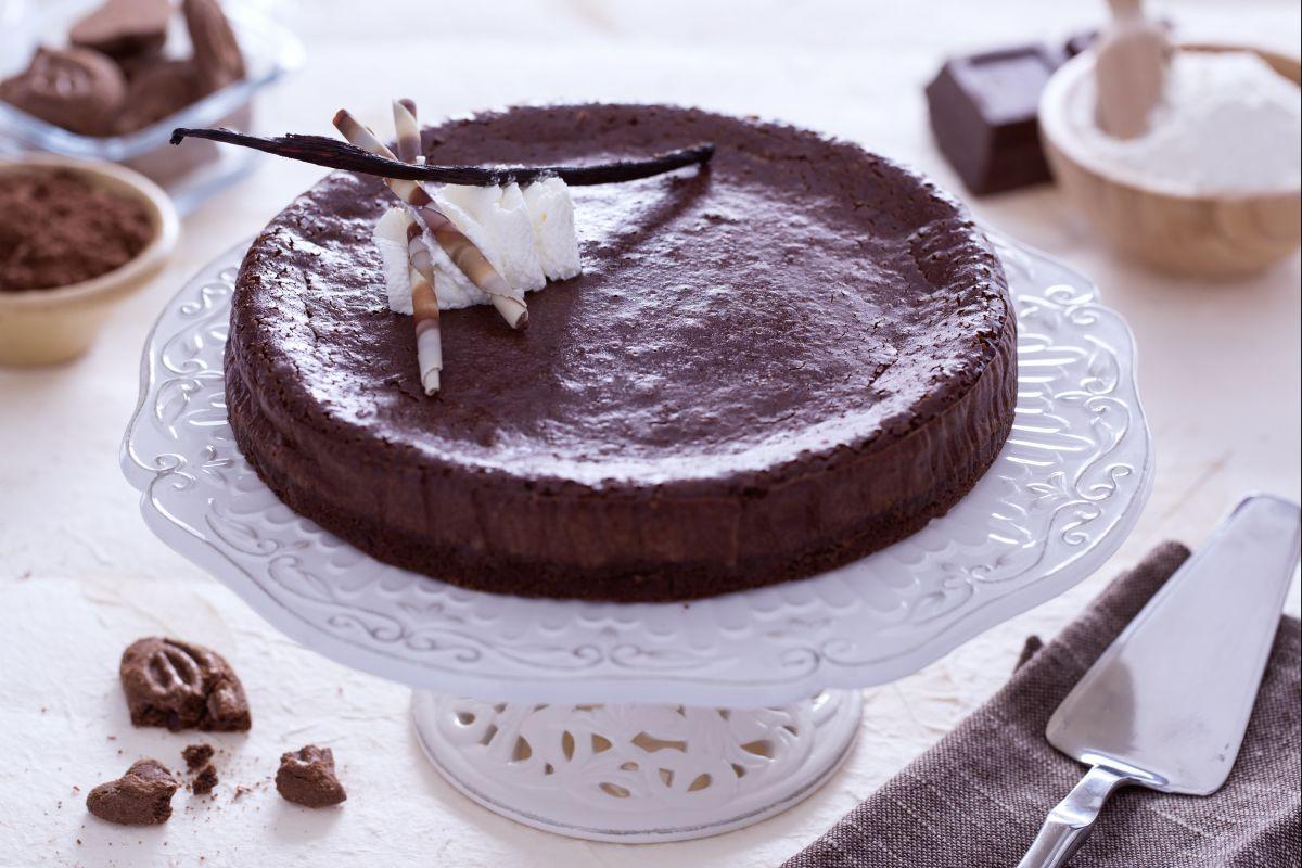 Ricetta Cheesecake Al Cioccolato La Ricetta Di Giallozafferano