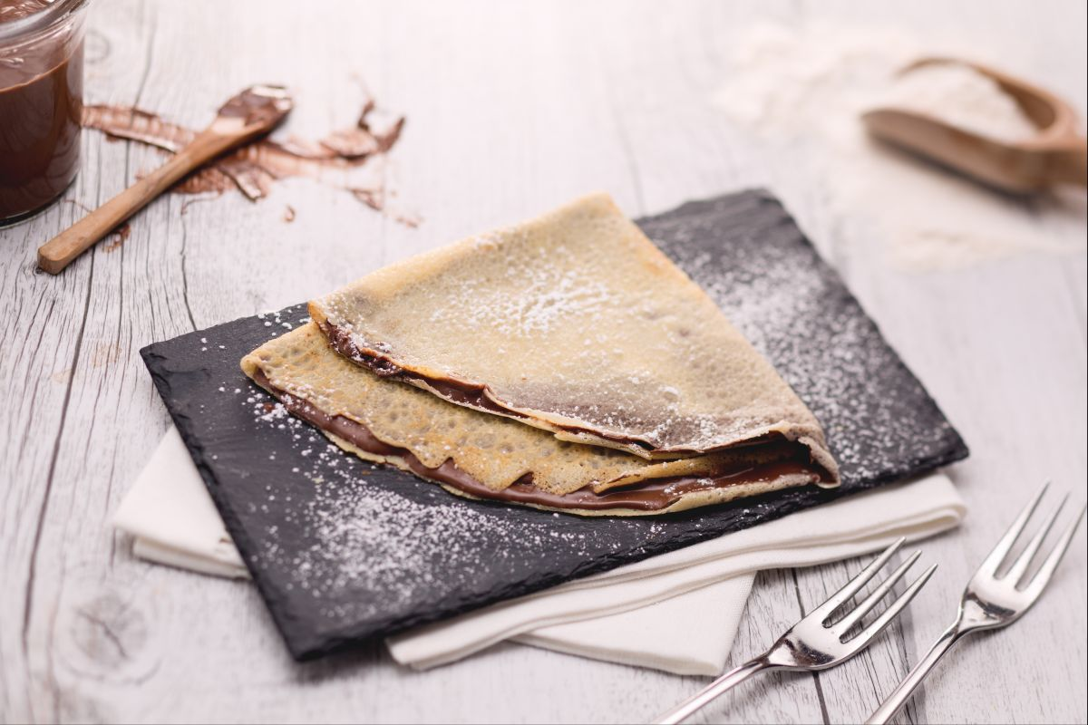 Ricetta base crepes nutella