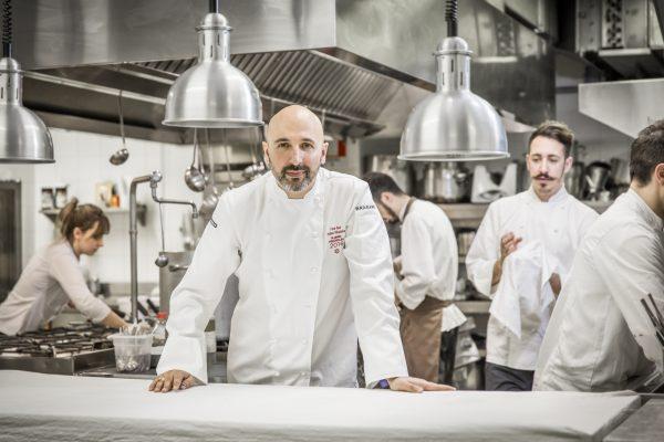Andrea Ribaldone, 1 stella Michelin, chef del ristorante I due Buoi di Alessandria - Fonte: Ufficio stampa