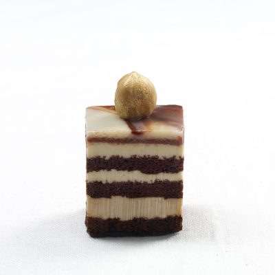 Il cremino ai tre cioccolati senza farina bianca - Fonte: Ufficio stampa Martesana