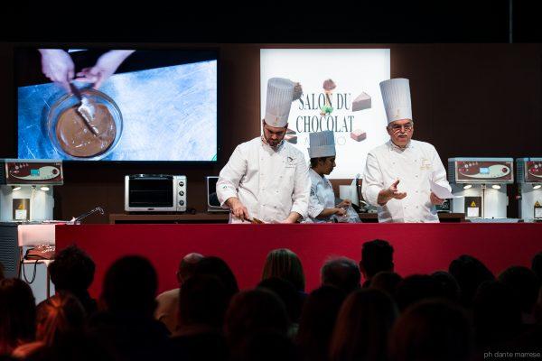 Un momento degli show cooking dei Maestri Pasticcieri - Fonte: Ufficio stampa