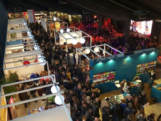L'edizione 2015 del Salon du Chocolat ha attirato 20 mila visitatori - Fonte: Ufficio Stampa