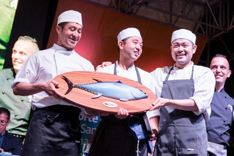 I vincitori giapponesi del Girotonno 2015 - Fonte: Ufficio stampa