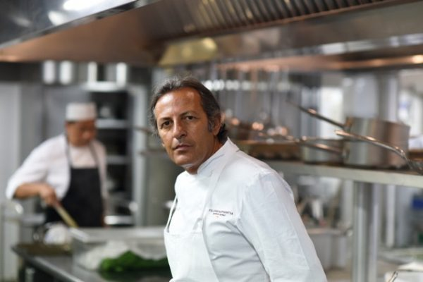Lo chef siciliano Filippo La Mantia - Fonte: Ufficio stampa