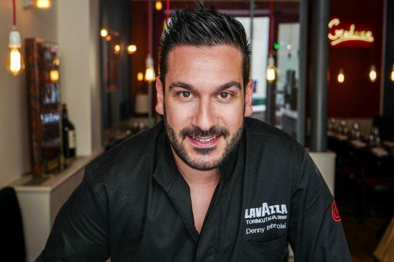 Lo chef Denny Imbroisi, italiano di origini calabresi. Ha aperto il suo ristorante a Parigi - Fonte: Ufficio stampa