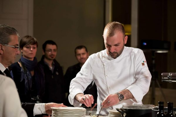 Lo chef Stefano De Gregorio - Fonte: Ufficio stampa