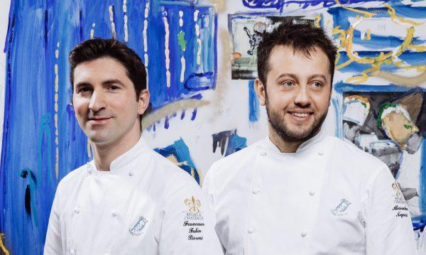 Fabio Negrini e Alessandro Pisani, che chef 2 stelle Michelin del Luogo di Aimo e Nadia © Sara Magn