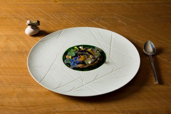 """Risotto alla """"Marinara"""", il piatto che ha vinto la finale italiana del S. Pellegrino Young Chef 2016 © Pitsfoto.com"""