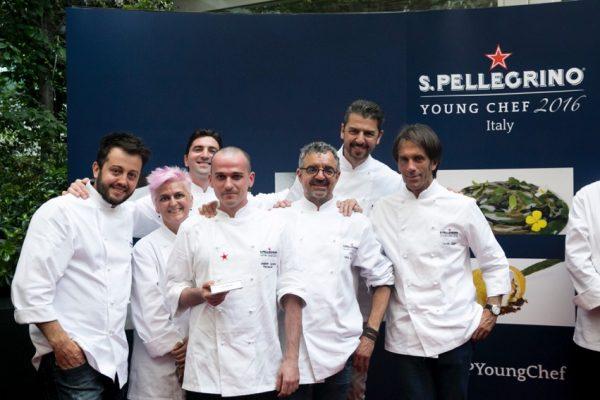 """La giuria della """"tappa"""" italiana del S. Pellegrino Young chef 2016 © Pitsfoto.com"""