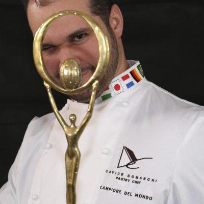 Davide Comaschi, Campione del mondo del Cioccolato - Fonte: Twitter Davide Comaschi