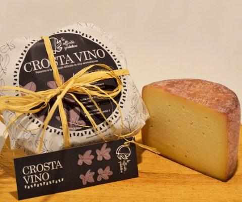 Il pecorino Crosta di Vino - Fonte: Ufficio stampa