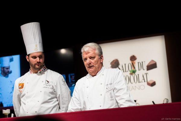 Davide Comaschi e Iginio Massari al Salon du Chocolat - Fonte: Ufficio stampa