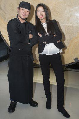 Giulia Liu e lo chef giapponese Keisuke Koga Fonte: Ufficio stampa A+A