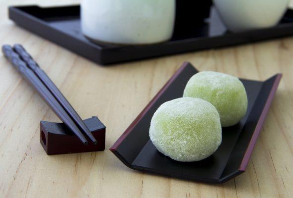 I mochi sono dolci a base di riso glutinoso di tradizione giapponese © Fotolia
