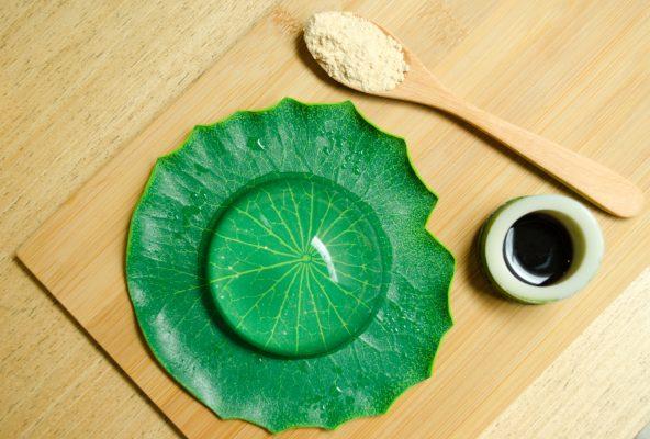 Il Mizu Shingen Mochi o Water cake © Fotolia
