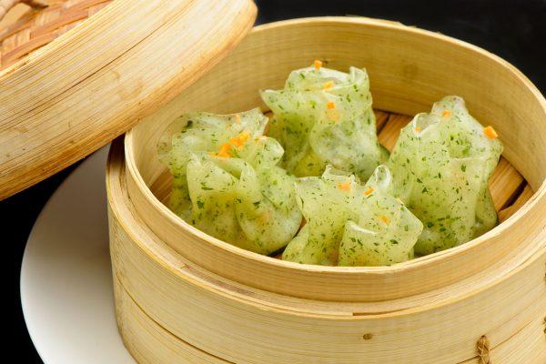 Saccottino di verdure-Ravioli al vapore ripieni di verdure miste - Fonte: Ufficio Stampa A+A