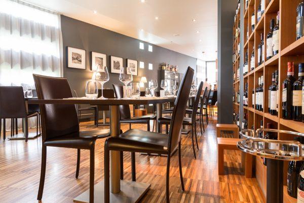 L'interno del ristorante stellato © Alessandro Famiani