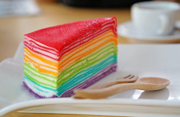 La Rainbow Mille Crepe © Fotolia
