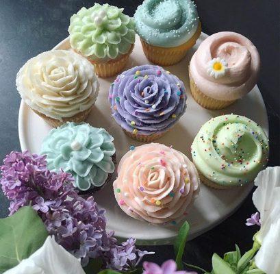 I famosi cupcake colorati di Magnolia Bakery © Magnolia Bakery Instagram Official