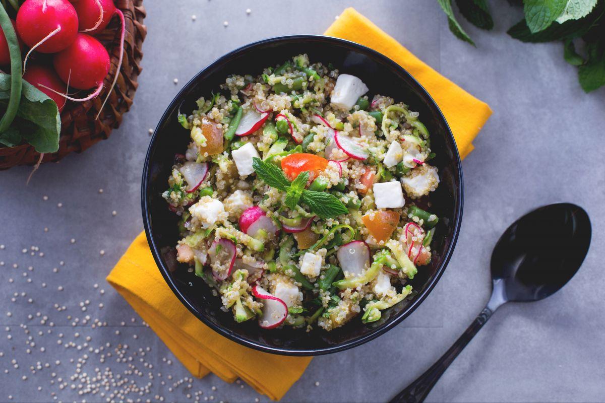 Ricetta insalata di quinoa la ricetta di giallozafferano
