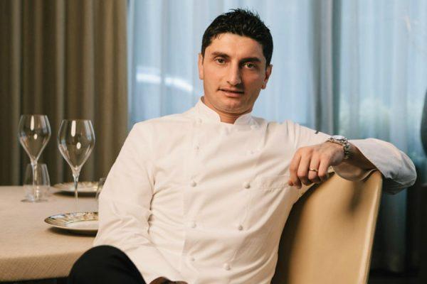 Lo chef stellato Andrea Aprea © Park Hyatt Milano