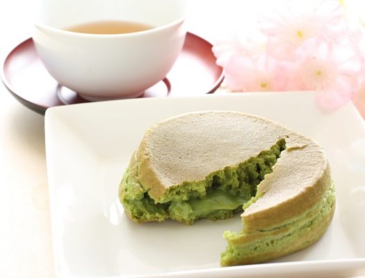 Imagawayaki al tè verde matcha © Fotolia
