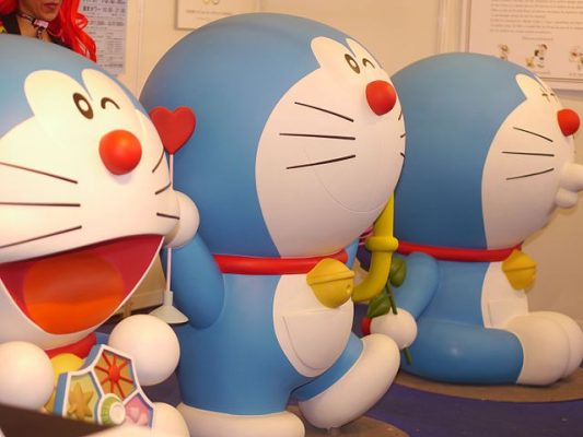 La mascotte di Doraemon © Yves Tennevin Creative Common Attribution License