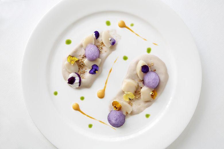 Capesante con verdure di stagione di Andrea Asoli © Château Monfort