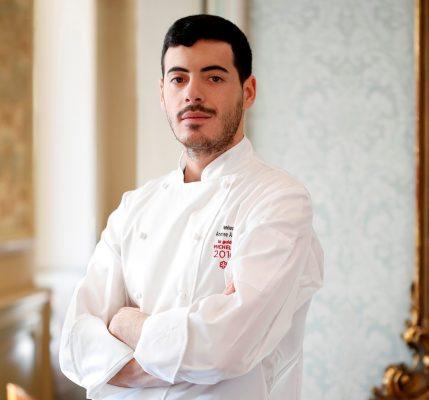 Andrea Asoli, Executive chef del ristorante Rubacuori by Venissa © Château Monfort