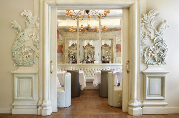 Il ristorante Rubacuori è ispirato al mondo delle fiabe © Château Monfort