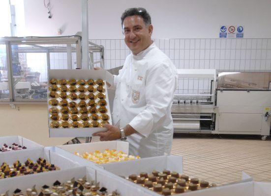 Il Maestro Pasticciere Sal De Riso nel suo laboratorio di Tramonti in Costiera Amalfintana © Sweety