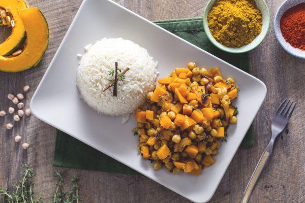 Curry di zucca e ceci © Giallo Zafferano