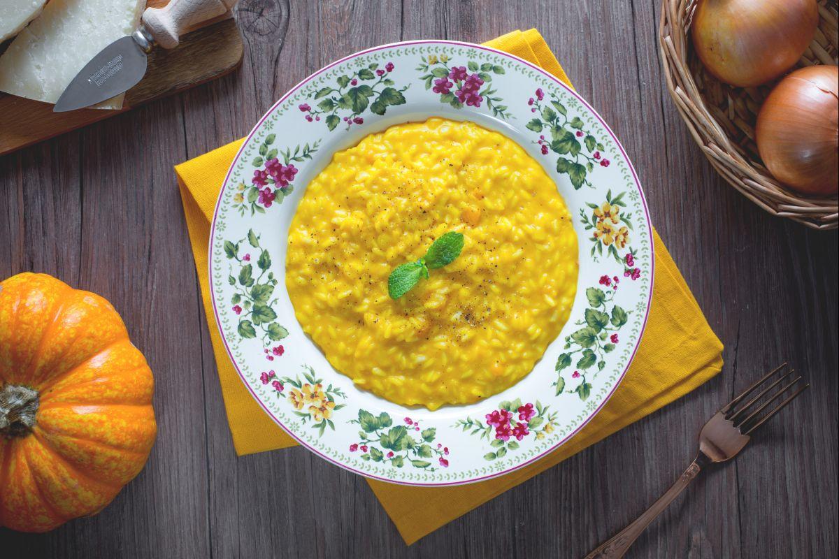 Ricetta Orzotto Zucca.Ricetta Risotto Alla Zucca La Ricetta Di Giallozafferano