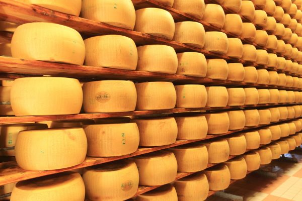 Il Parmigiano Reggiano è una delle eccellenze dell'Emilia Romagna © Fotolia