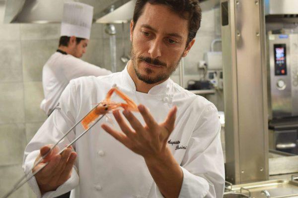 Augusto Pasini di Lanzani Bottega e Bistro ha vinto il premio 3 cocotte © Ufficio stampa