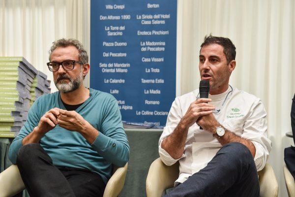 Massimo Bottura e Ernesto Iaccarino © Francesco Vignali Photography