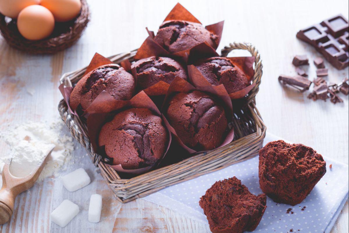Ricetta Muffin Al Cioccolato La Ricetta Di Giallozafferano