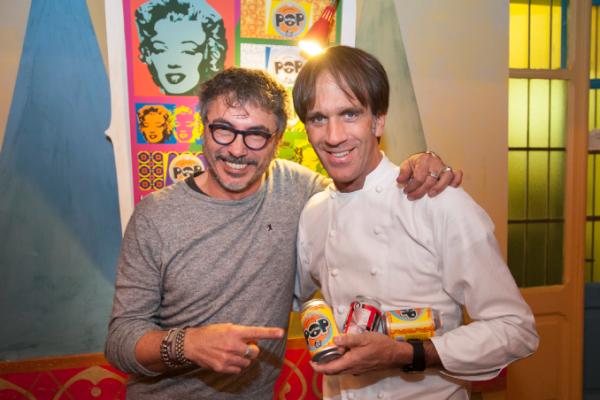 Teo Musso e lo chef Davide Oldani © Baladin