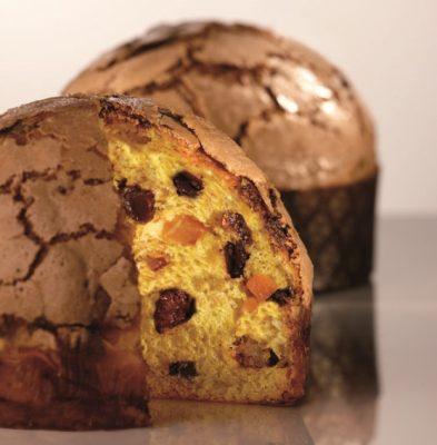 Il panettone al cioccolato di Iginio Massari © Pasticceria Veneto