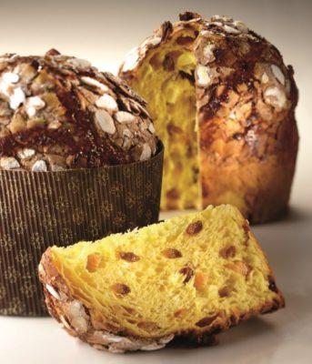 Il Panettone di Iginio Massari: è preparato con 3 impasto in modo da restare più morbido © Pasticceria Veneto