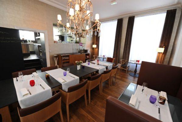 Il ristorante Les Avizes © Les Avizes