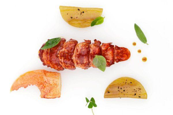 Un piatto dello Chef tre stelle Michelin Arnaud Lallement © Gérard Malaisé Assiette Champenoise